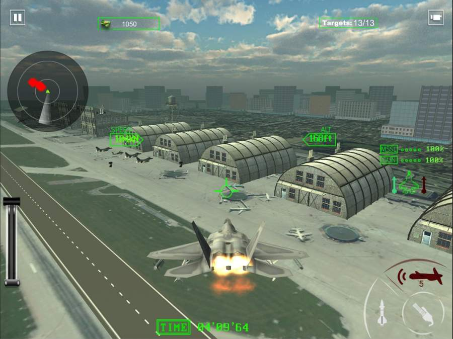 空军喷气式战斗机作战