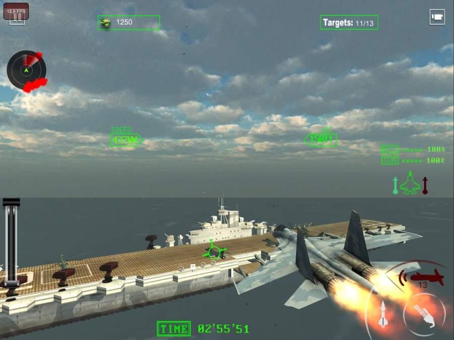 空军喷气式战斗机作战截图1