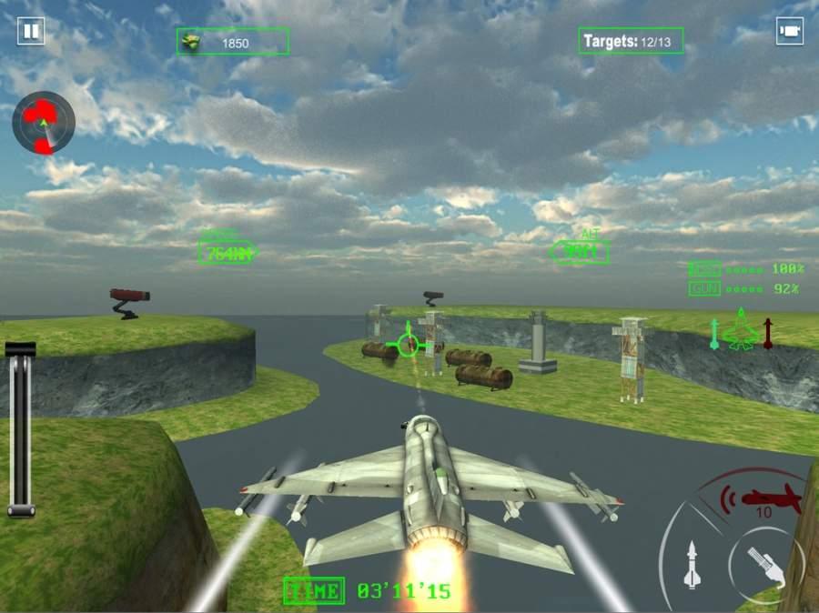 空军喷气式战斗机作战截图2