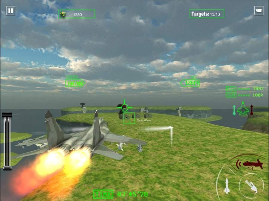 空军喷气式战斗机作战截图7
