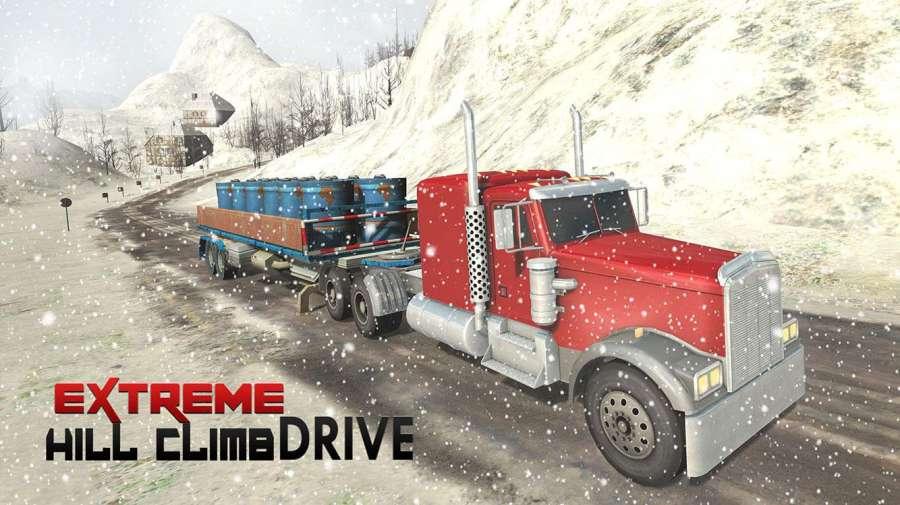 越野雪卡车司机3D截图1