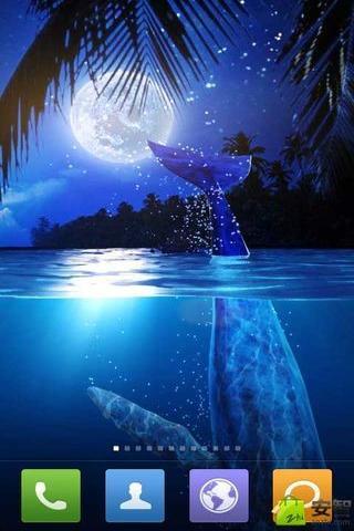 鲸鱼之月动态壁纸安卓版下载 鲸鱼之月动态壁纸 1.4.0手机版免费下载