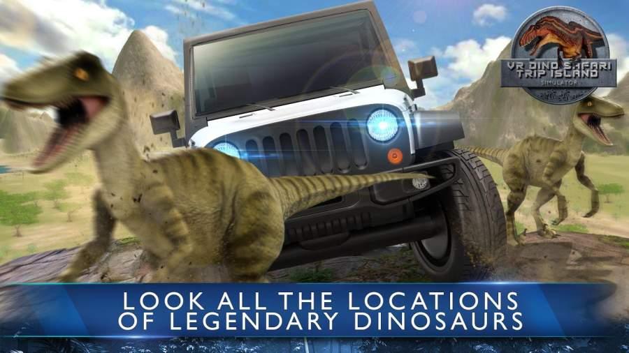 VR Dino Safari Trip Island Simulator