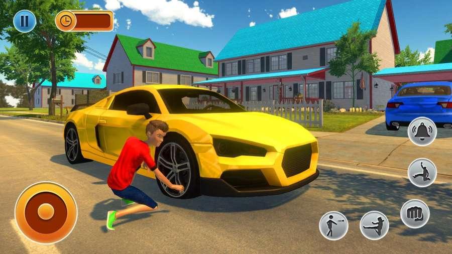 虚拟邻居高中恶霸男孩家庭游戏截图1