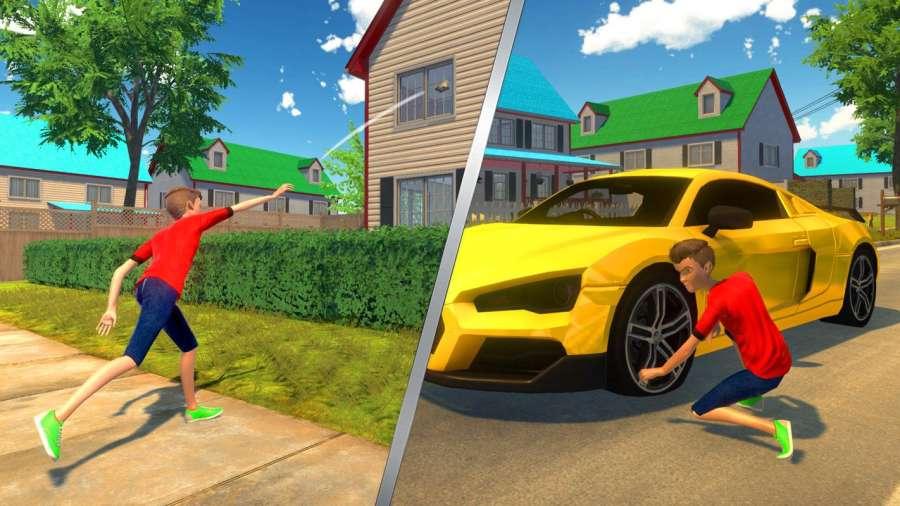 虚拟邻居高中恶霸男孩家庭游戏截图2