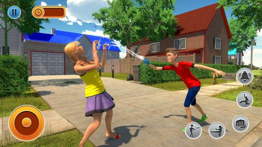 虚拟邻居高中恶霸男孩家庭游戏截图3
