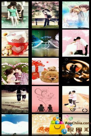 浪漫爱情壁纸 個人化 App-愛順發玩APP