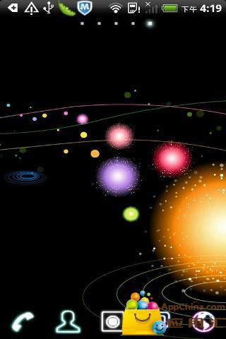 银河Go桌面主题截图1