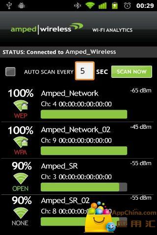 WiFi分析工具