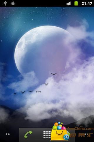 神秘之夜动态壁纸