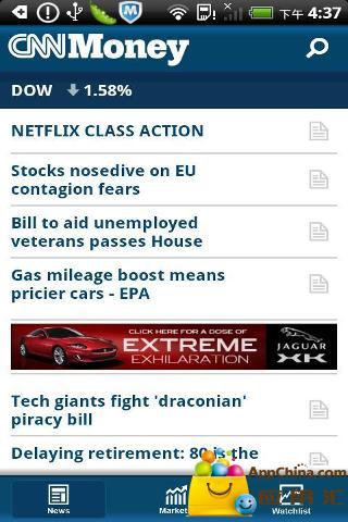 玩免費新聞APP|下載CNNMoney新闻 app不用錢|硬是要APP
