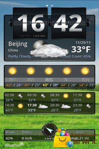 高级天气预报截图3