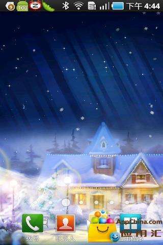 圣诞平安夜动态壁纸
