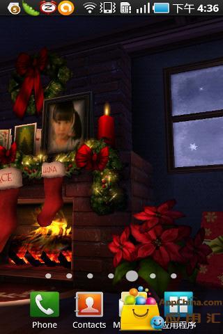 圣诞节3D动态壁纸截图4