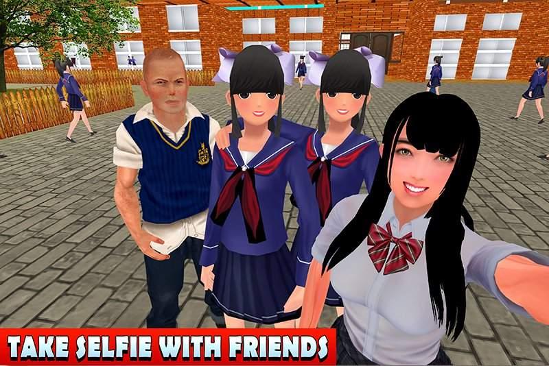 高中女生生活模拟器截图9