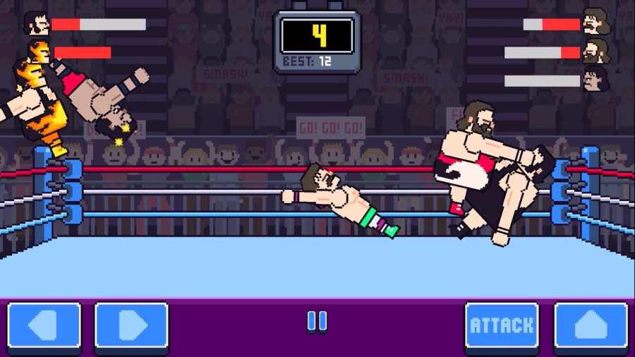 狂野摔跤截图1
