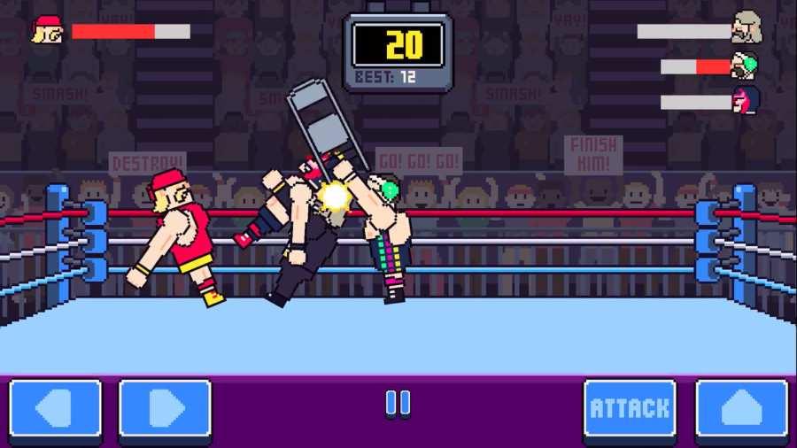 狂野摔跤截图4