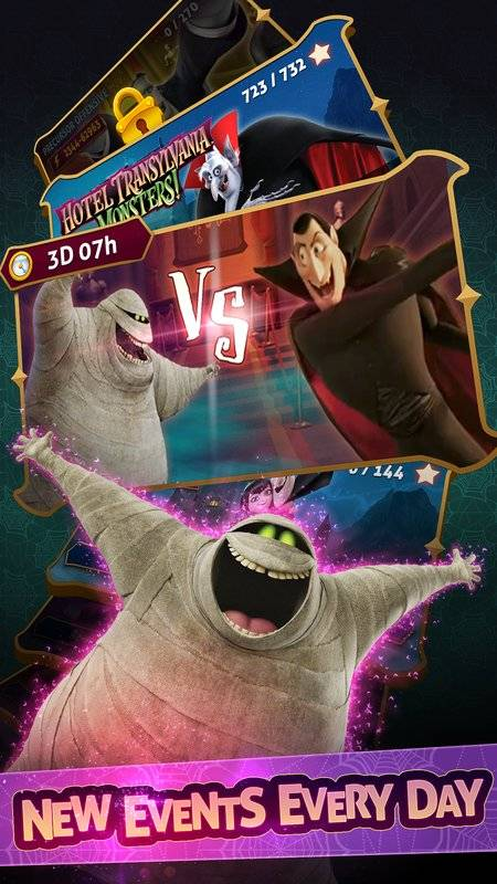Hotel Transylvania: Monsters! - Puzzle Action Game截图10