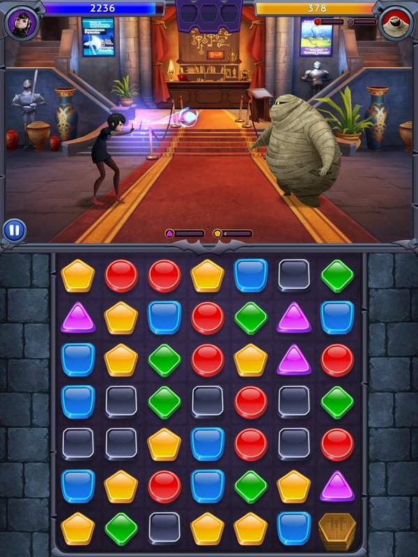 Hotel Transylvania: Monsters! - Puzzle Action Game截图3