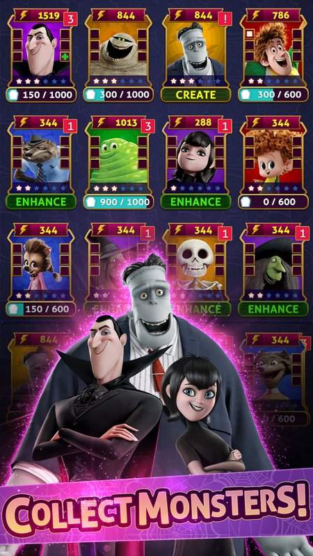 Hotel Transylvania: Monsters! - Puzzle Action Game截图6