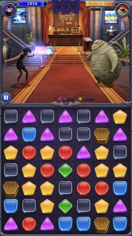 Hotel Transylvania: Monsters! - Puzzle Action Game截图7