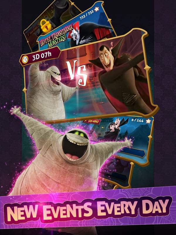 Hotel Transylvania: Monsters! - Puzzle Action Game截图8