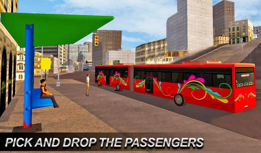 真正的欧洲城市公交车模拟器2018年截图0