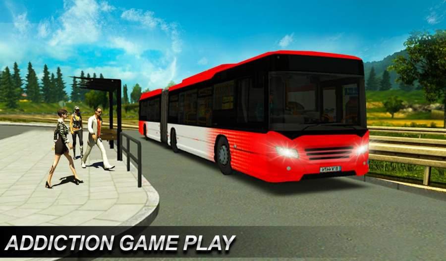 真正的欧洲城市公交车模拟器2018年截图3