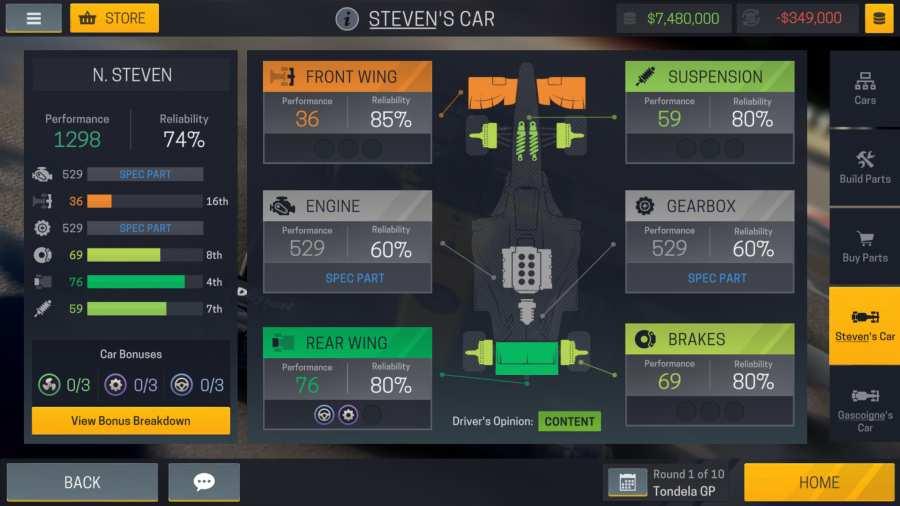 赛车经理2截图1