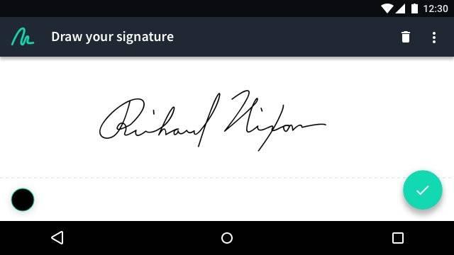 Just Sign 截图0