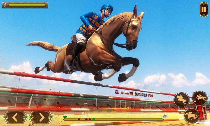 赛马 - 德比任务竞赛骑马游戏