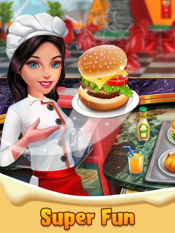 顶级厨师烹饪游戏 - 疯狂的厨房故事截图0