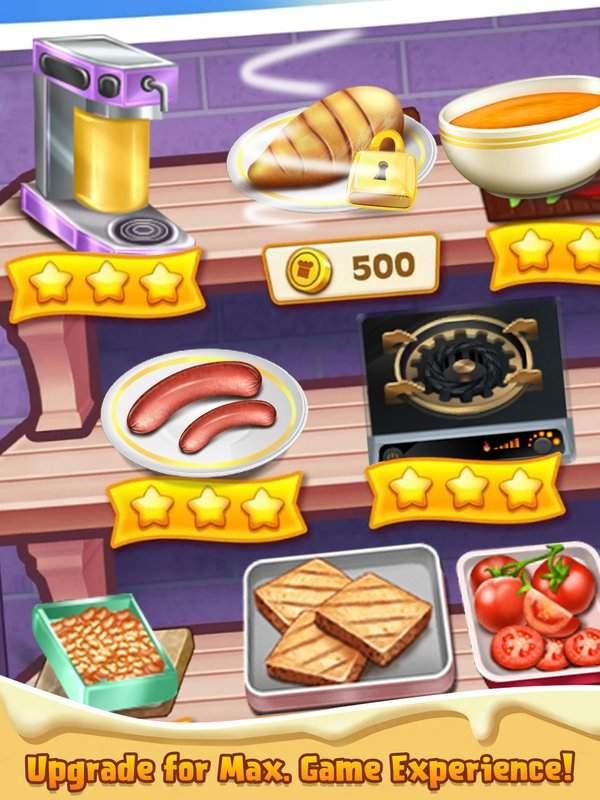 顶级厨师烹饪游戏 - 疯狂的厨房故事截图3