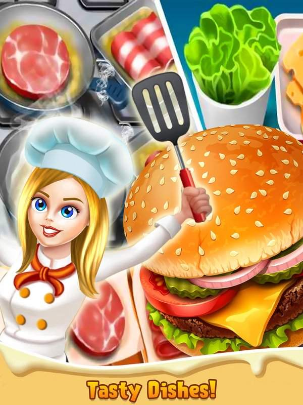 顶级厨师烹饪游戏 - 疯狂的厨房故事截图4