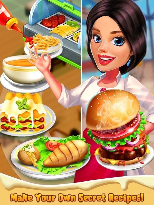 顶级厨师烹饪游戏 - 疯狂的厨房故事截图5