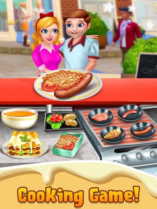 顶级厨师烹饪游戏 - 疯狂的厨房故事截图6