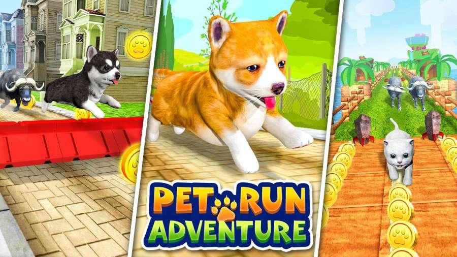 宠物跑步冒险