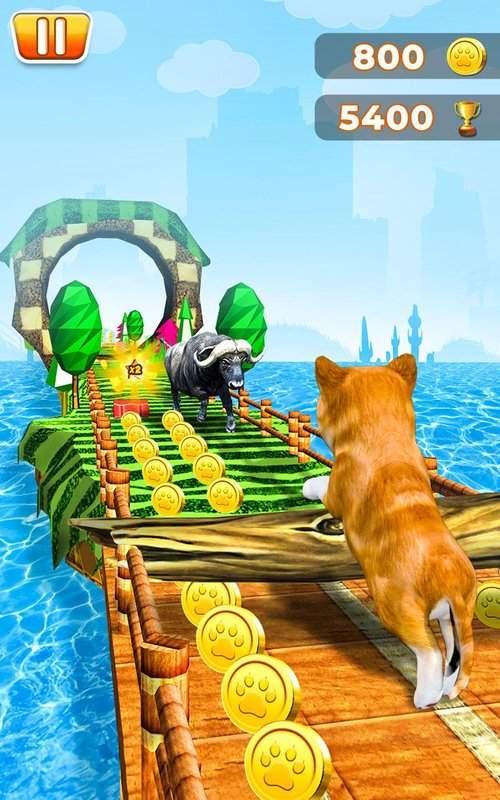 宠物跑步冒险截图1