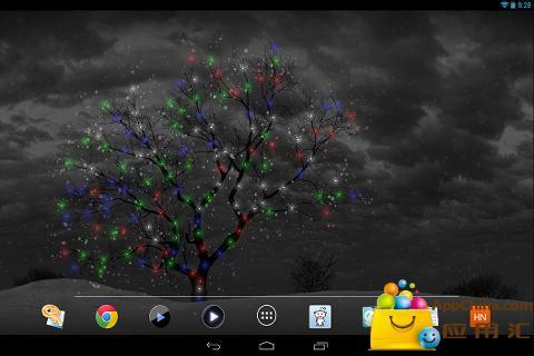 【免費個人化App】孤独的树动态壁纸-APP點子