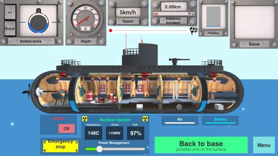 Nuclear Submarine inc截图4