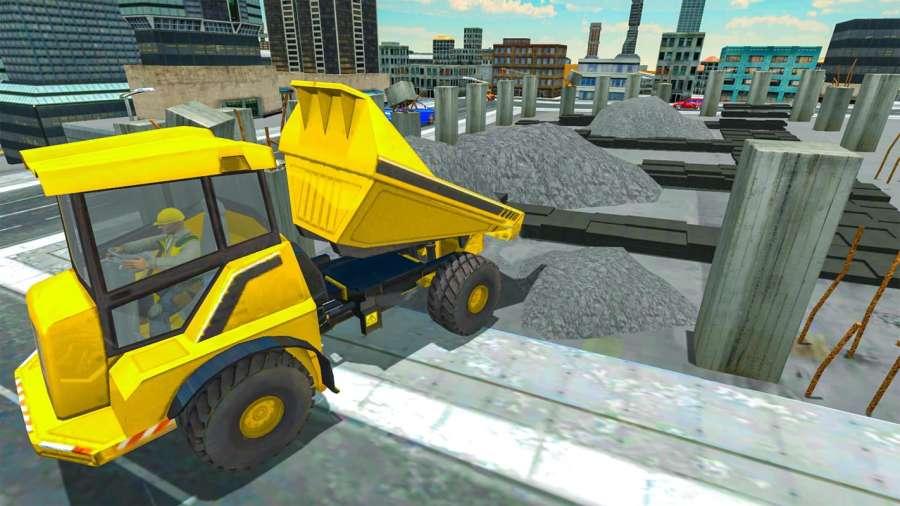 建筑重型挖掘机模拟器2018年截图4