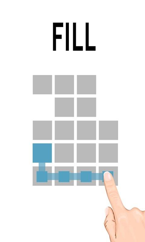 Fill One Line - Stroke Puzzle Game
