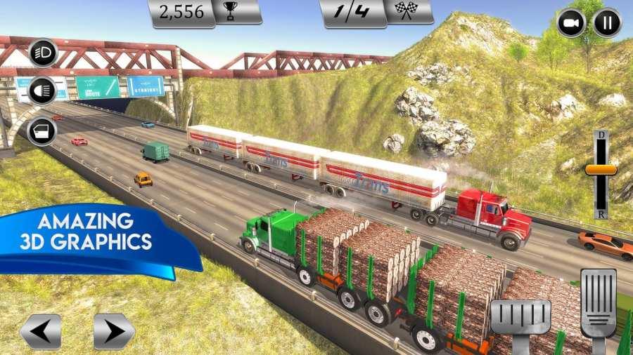 大卡车模拟器2018年:美国卡车司机截图2