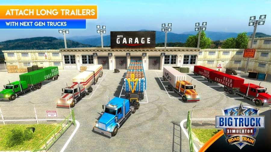 大卡车模拟器2018年:美国卡车司机截图3
