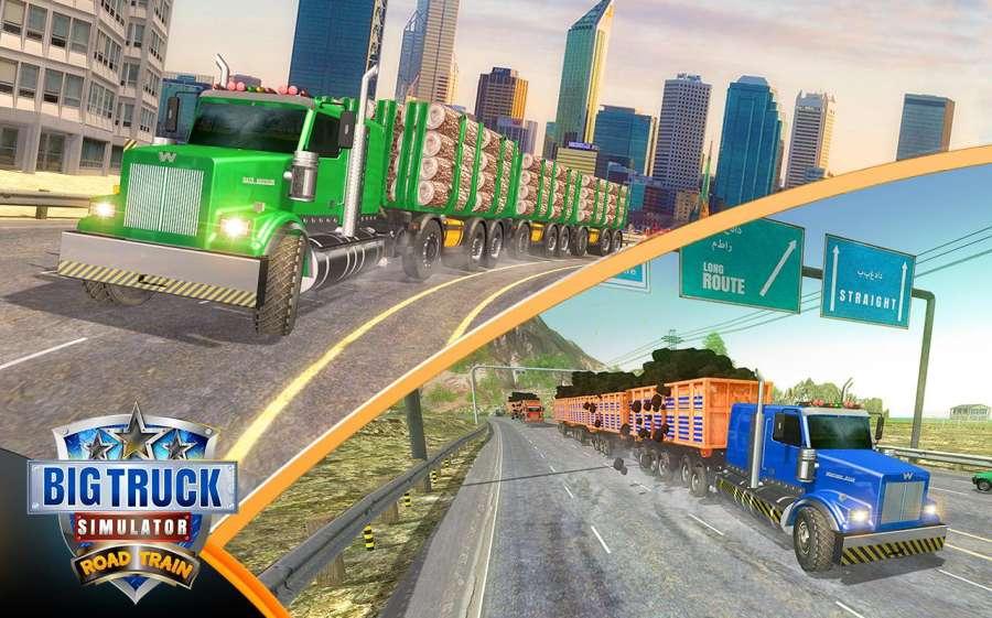 大卡车模拟器2018年:美国卡车司机截图7