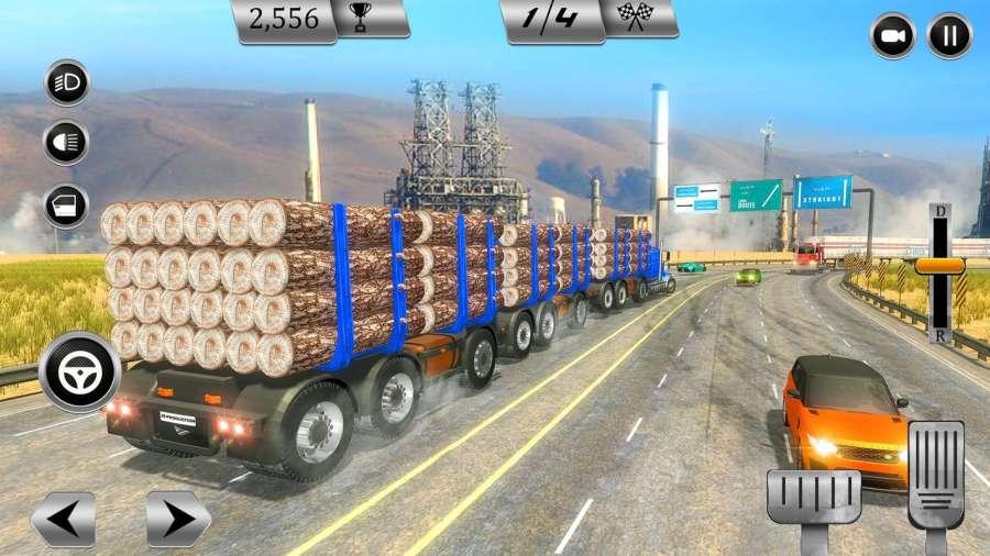 大卡车模拟器2018年:美国卡车司机截图9