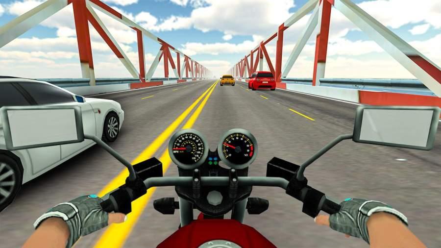 高速公路实际交通自行车赛车截图7