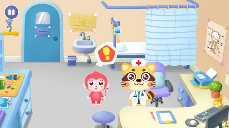 宝宝不怕去医院