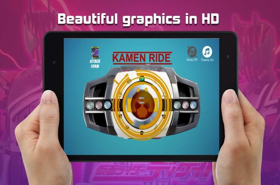 用于假面和骑手十年的DX henshin腰带截图3