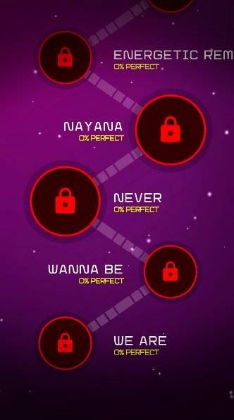 Wanna One Dancing Line: Music Dance Line Tiles截图4
